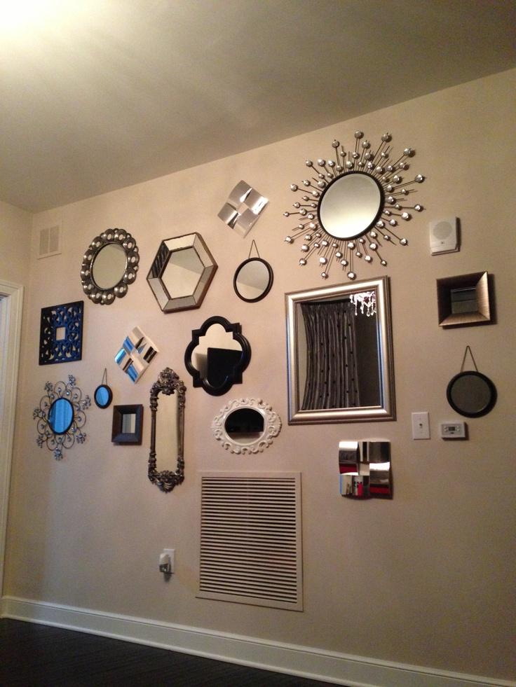 easy way to transform a plain wall dozen or all