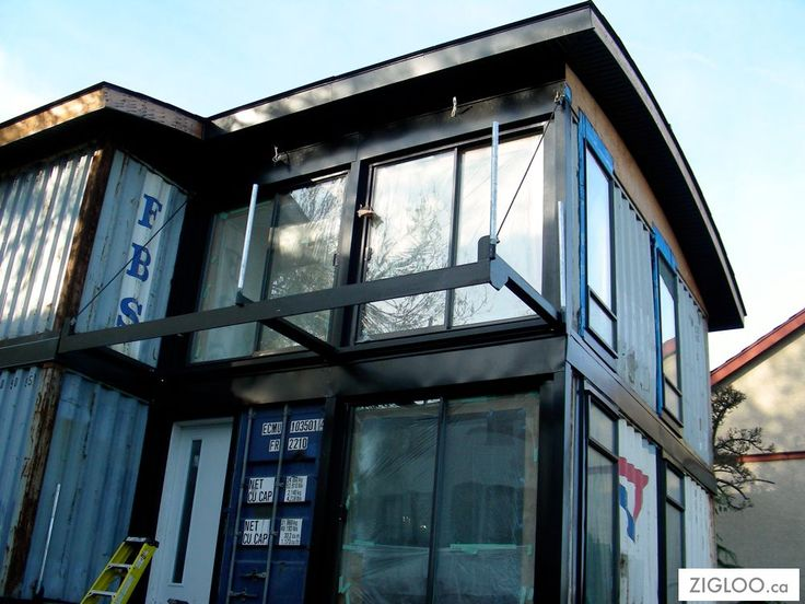 20 ft 40 ft container van as house tagaytay pinterest - Container van homes ...