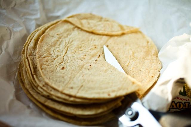 Homemade Tortilla Chips. | Food | Pinterest