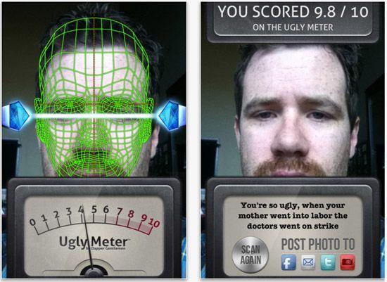 Ugly Meter App