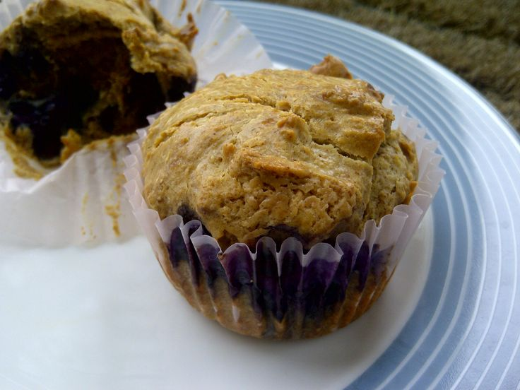 No Grain Blueberry Almond Muffins {Sugar Free}....and with ingredients ...
