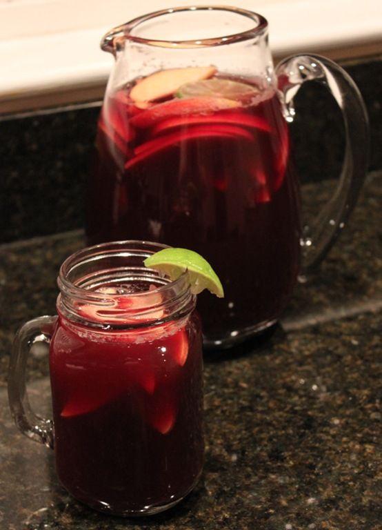 Apple Cider Sangria : domestocrat | beverages | Pinterest
