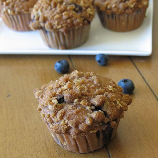Whole-Wheat Blueberry Muffins | OAMC/Freezer cooking ideas | Pinterest