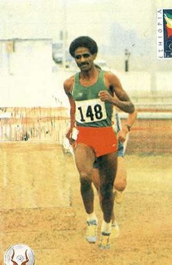 Oromo athlete Eshetu Tura had won a total of 30 gold, 19 silver and 13 bronze medals in the 3000 meters hurdle race. http://www.oromiasports.com/athletics.html
