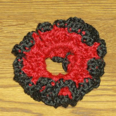 Crochet Hair Scrunchie Video : Crochet Hair Scrunchie Free Crochet Pattern