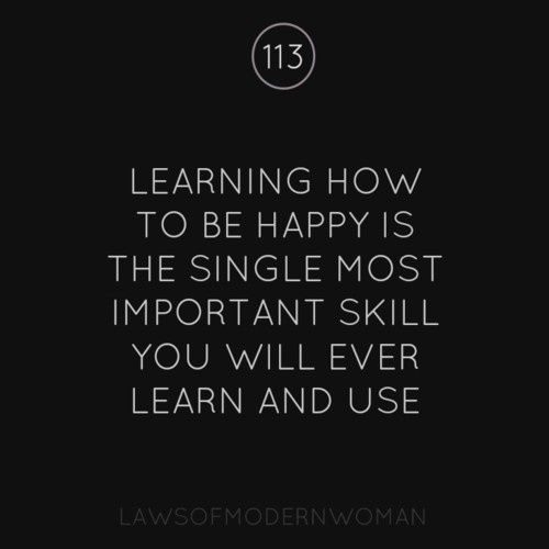 Quotes About Learning to Be Happy
