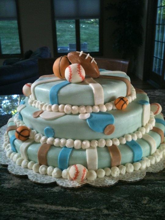 sports theme baby shower cake cake cookie ideas pinterest