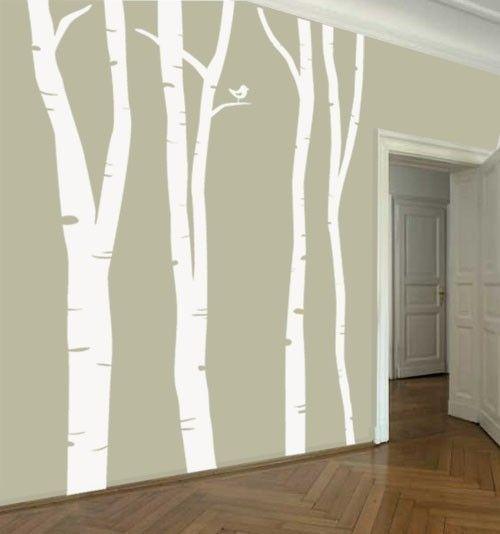 Pin by jaime mason on interior house pinterest for Aspen tree wall mural