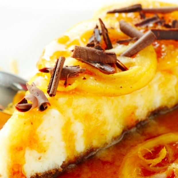 caramelized orange cheesecake recipes dishmaps caramelized orange ...