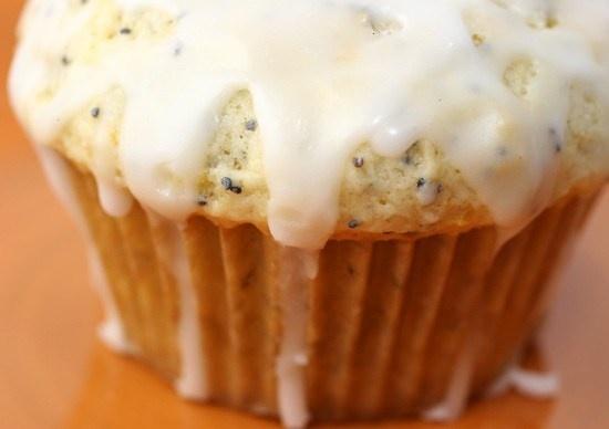 Lemon poppyseed muffins with lemon glaze | Ready to Pop baby shower ...