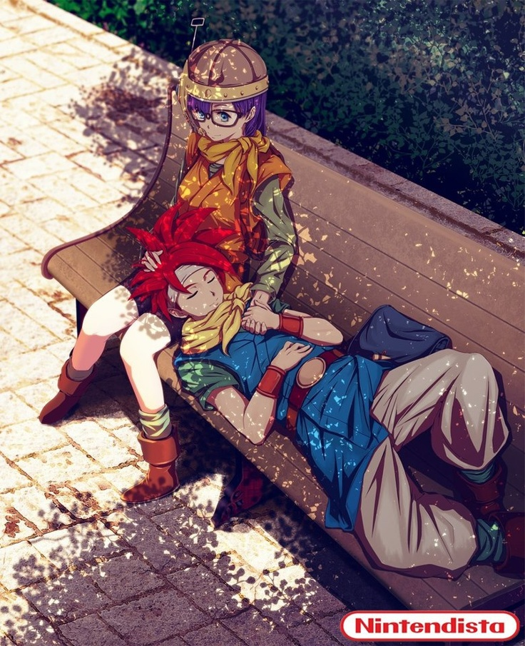 Lucca and Chrono | Chrono Trigger ...