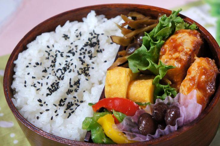 Beautiful Spring Bento Box Recipe