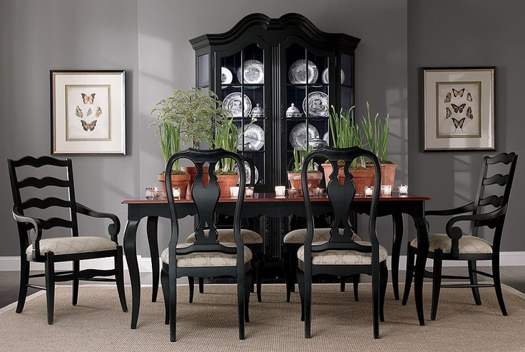 Pin by fang ling on style american classic pinterest for Ethan allen dining room