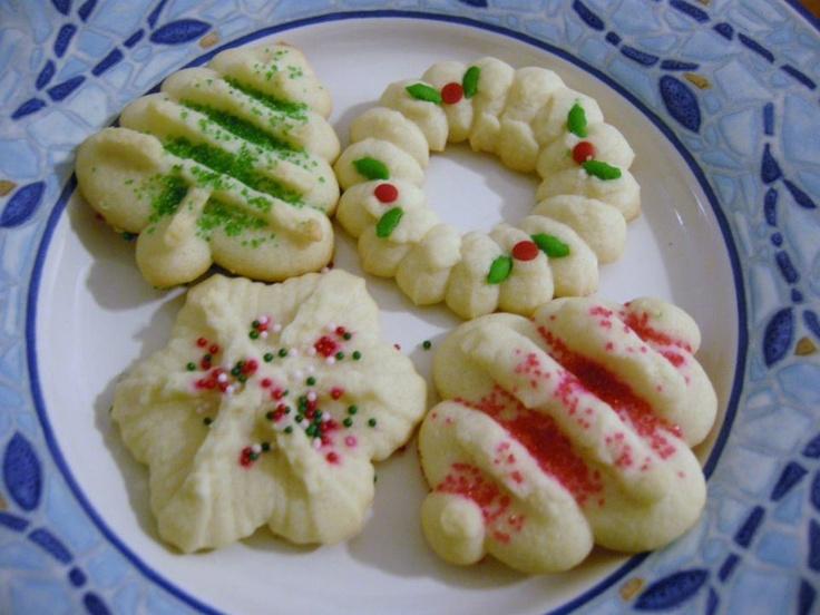 Classic Spritz Cookies...I love Spritz cookies!