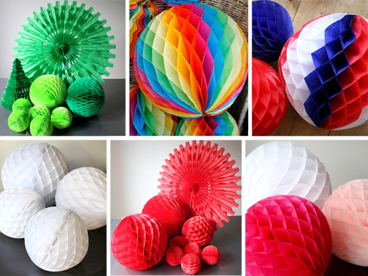 Объемные шарики своими руками 37