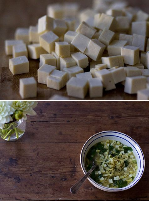 High Protein Recipes... Green Curry Broth Recipe