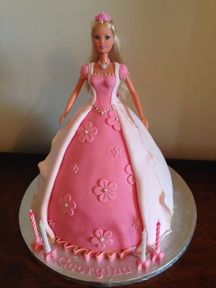 Princess Doll Cake Images : Princess doll cake Cakes Doll Cakes Pinterest