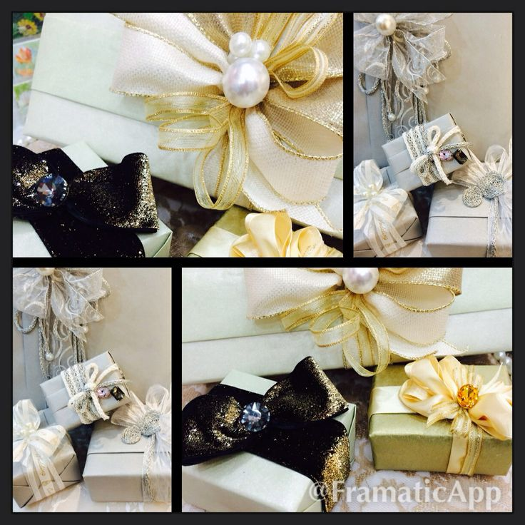 Wedding Gift Wrapping Ideas Pinterest : Bridal gift wrapping www.wrapt.ae Wrapt Pinterest