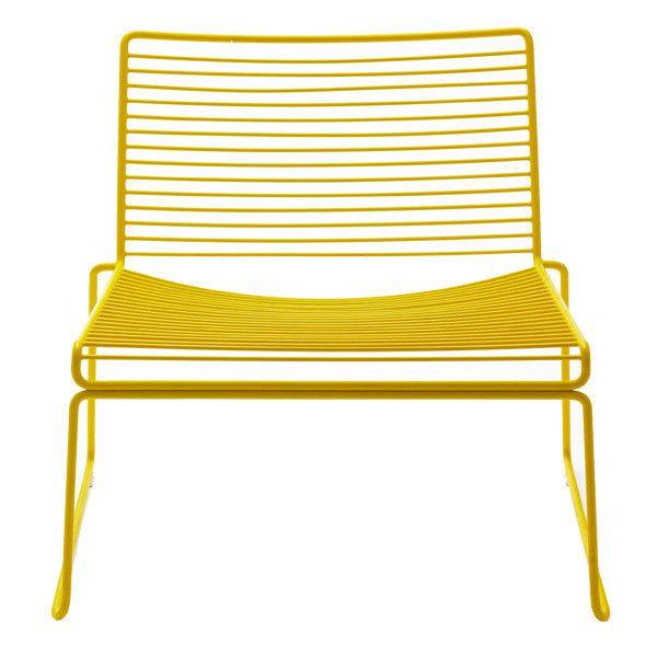 Hay Hee lounge chair yellow Garden Outdoor space