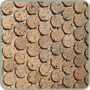 cork mosaic tile kitchen backsplash home sweet home
