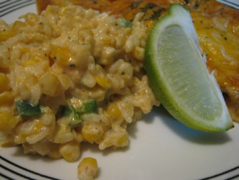 Mexican Sour Cream Rice Recipe by IAXIAN via @SparkPeople