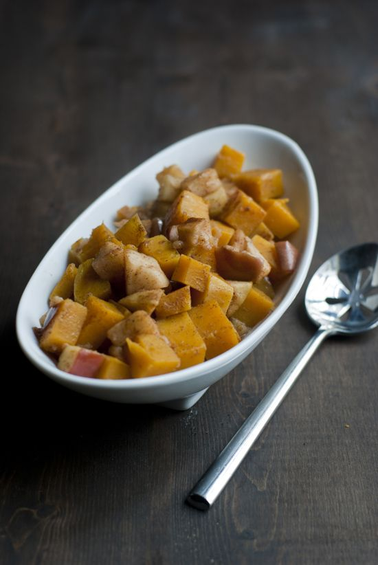 Squash Apple Bake - Butternut squash and apples are baked with ...