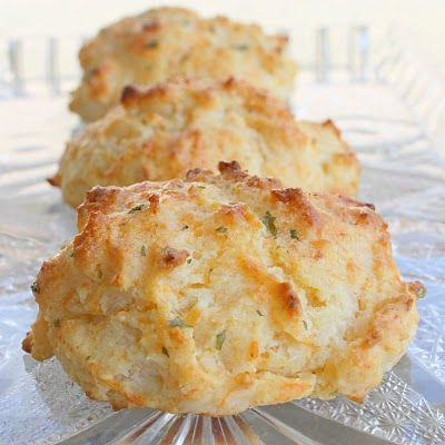 Cheddar biscuits. EXACTLY like Red Lobsters- tasty.