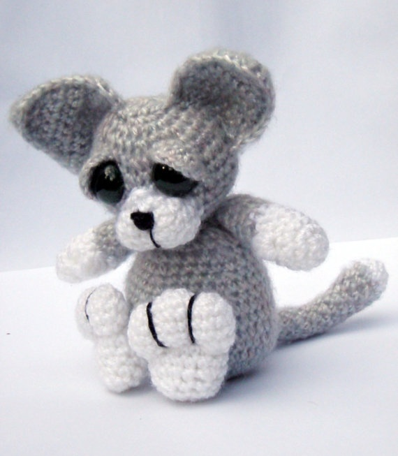 Amigurumi Kitten : Kitten Cat Amigurumi Crochet Pattern PDF Instant Download ...