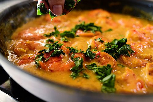 Coconut Curry Shrimp - Sub the honey and use cauliflower rice for low ...