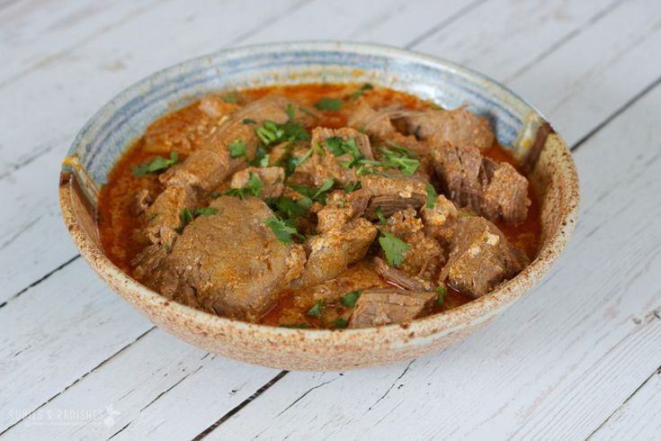 Slow Cooker Sindhi Beef Curry Recipe — Dishmaps