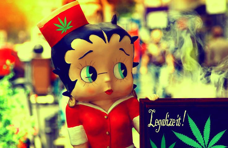Betty Boop says Legalize it