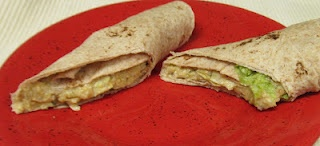 Chickpea Salad Wraps - | Favorite Waist Watching Recipes | Pinterest