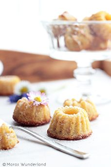 Honey Almond Mini Bundt Cakes