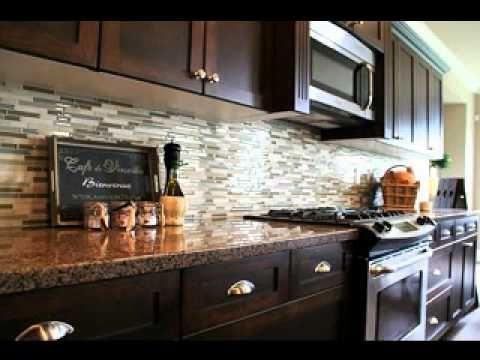 Diy kitchen backsplash ideas my home decor design pinterest - Diy kitchen backsplash ideas ...