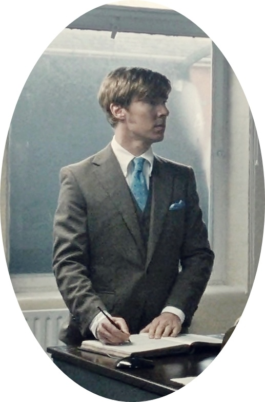"""""""Dapperbatch"""" - Oh God, look at his jawline!  I want to lick it."""