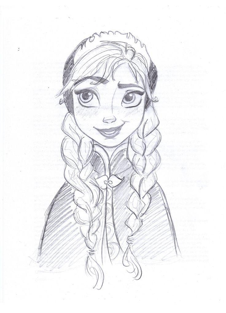 disney frozen drawings