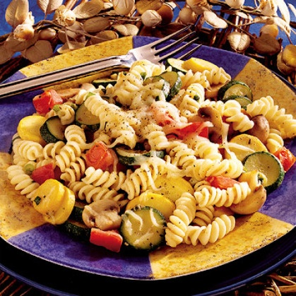 Pasta with Garden Vegetables | Cooking is my therapy | Pinterest