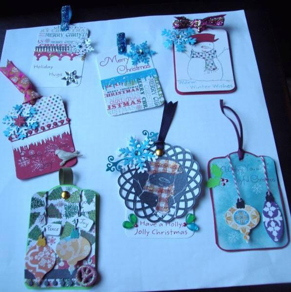 Christmas gift tags fb handmade gifts board pinterest for Christmas tags on pinterest
