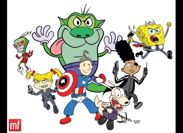 Nicktoon Avengers Assembled!