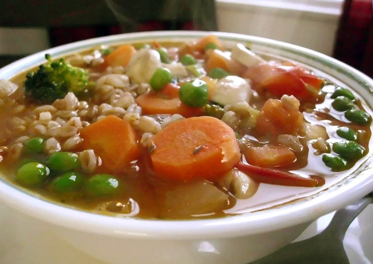 Recipe: Vegetable Farro Soup | Poor Girl Eats Well — How to eat ...
