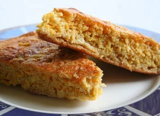 Old-fashioned Southern cornbread recipe. Cornbread, packed with cheese ...