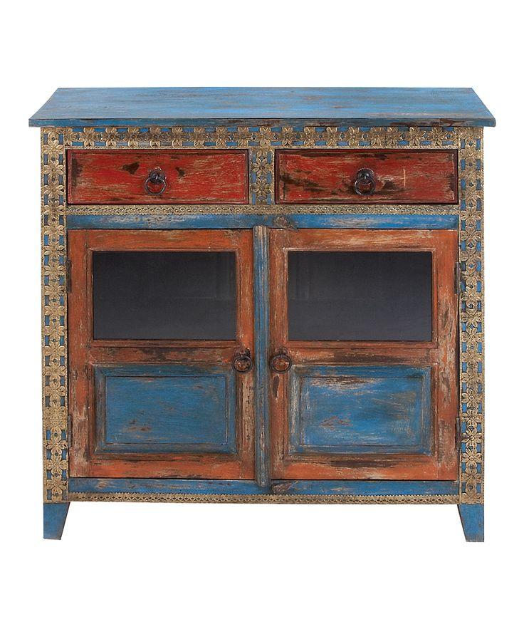 Wood Almirah Cabinet