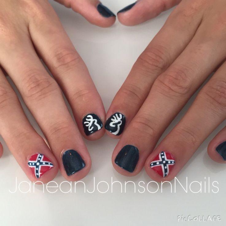 Confederate flag nails | Nails | Pinterest | Flag nails, Flags and Makeup. - Confederate Flag Nails Nails Pinterest Flag Nails, Flags And