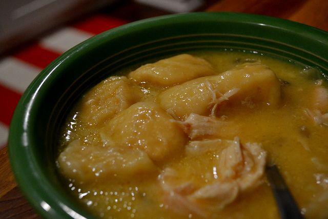 Slow cooker chicken and dumplings | dinner ideas | Pinterest