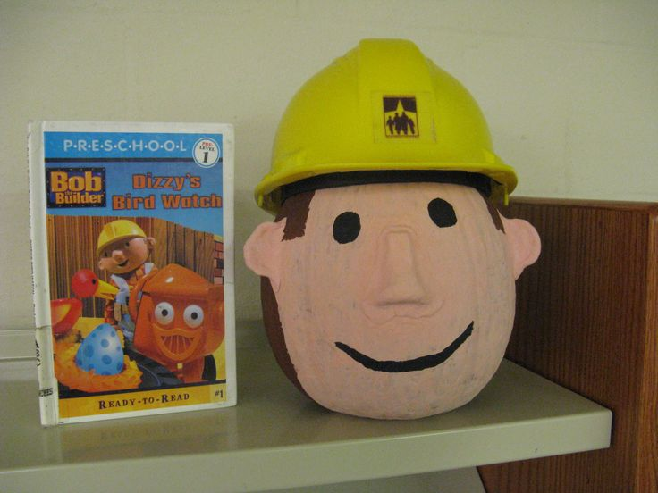 Bob the Builder  - Book Character Pumpkin (Pumpkin Painting 2011)