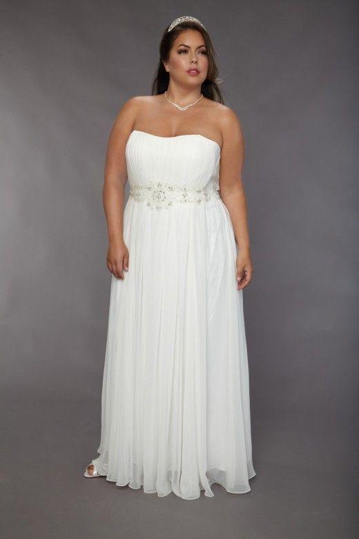 Plus Size Wedding Dresses With Empire Waist : Empire waist plus size wedding dresses ek dans vir goed met jou p