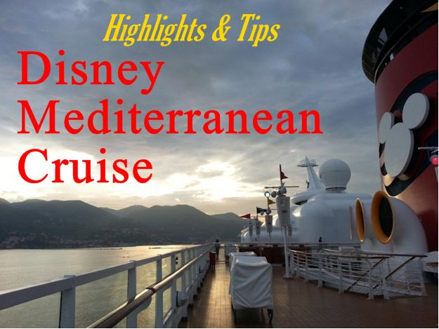 Disney mediterranean cruise tips favorite places amp spaces pintere