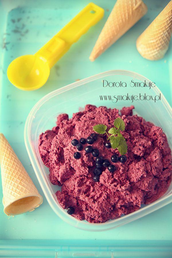Easy blueberry ice cream | My Food Photos | Pinterest