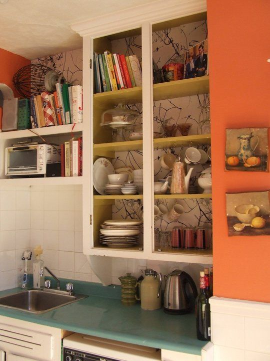 Heather's Coral Kitchen Room for Color  International #16  Apartment