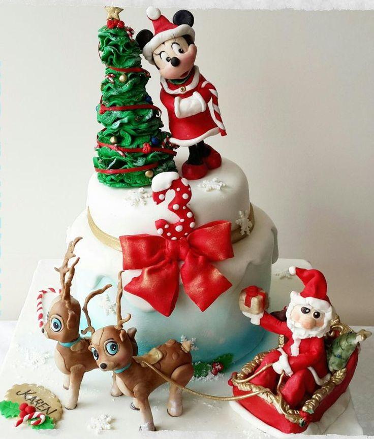 christmas cake - Cake by tatlibirseyler